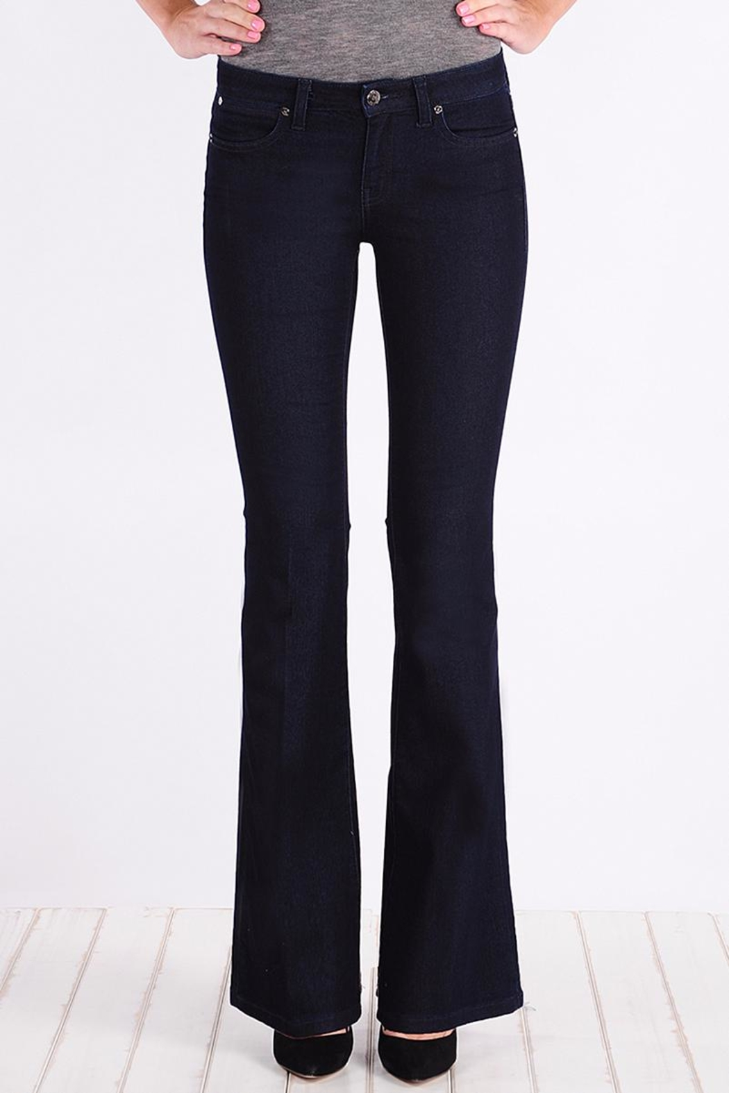 Henry & Belle Lila Flare Jeans - Main Image