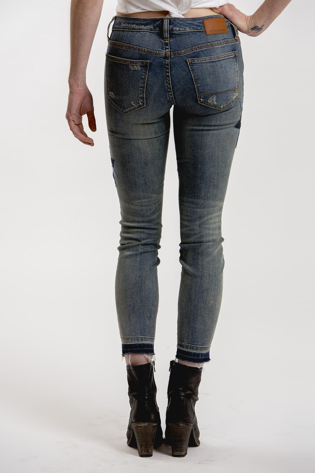 Henry & Belle Lila Skinny Jeans - Side Cropped Image