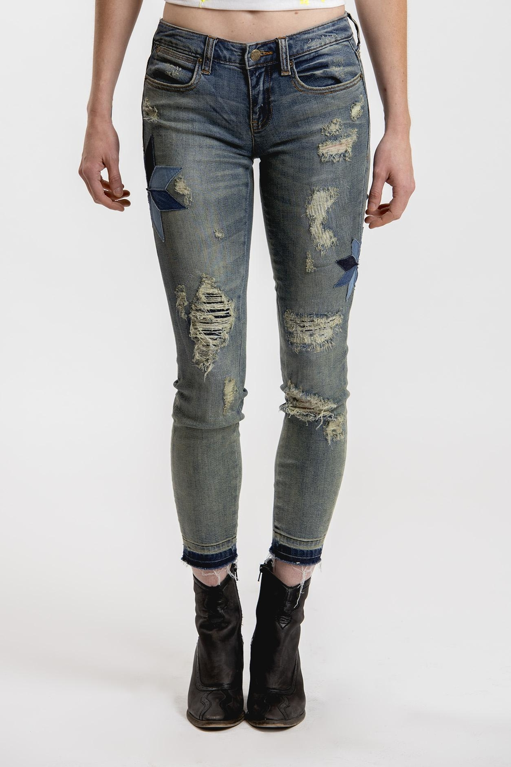 Henry & Belle Lila Skinny Jeans - Front Cropped Image