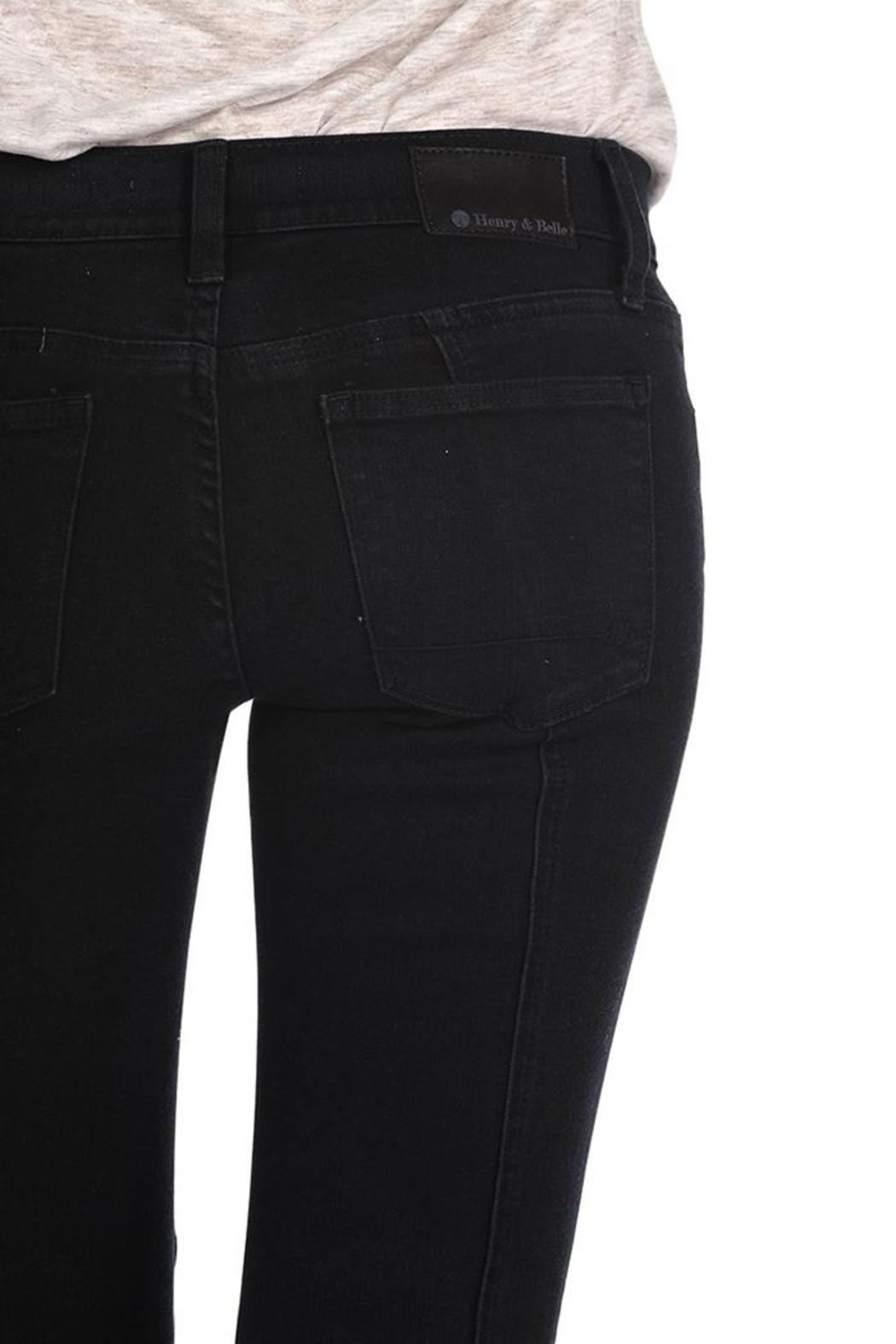 Henry & Belle Moto Super-Skinny Ankle - Side Cropped Image