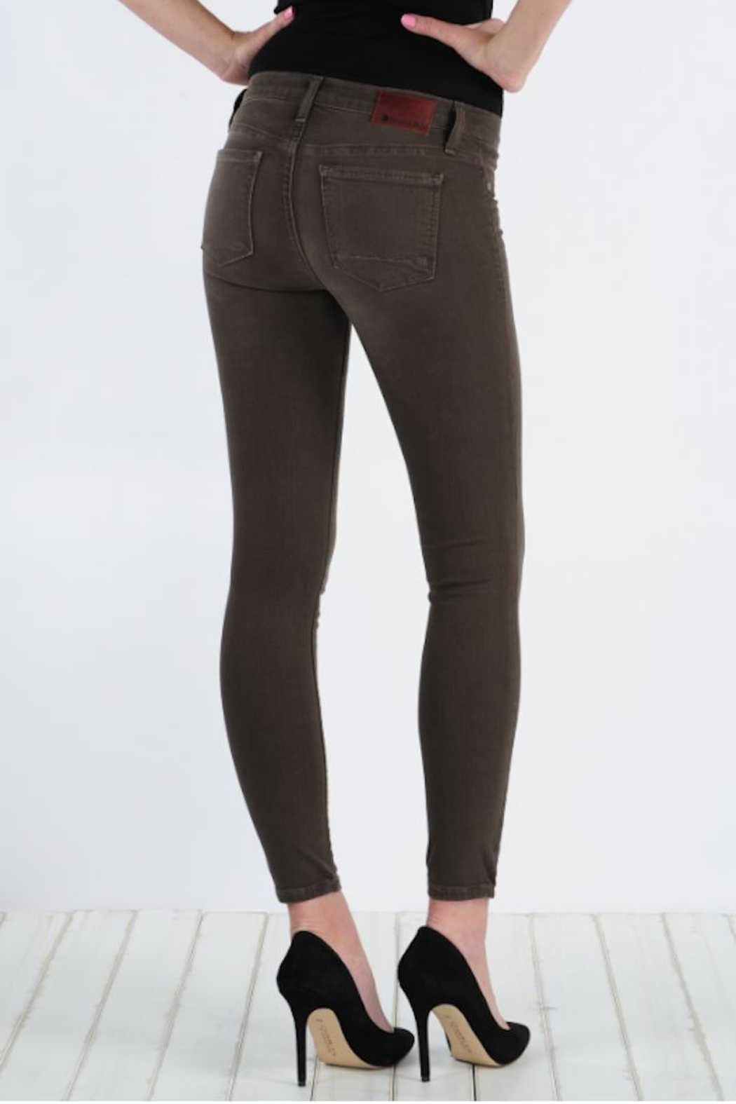 Henry & Belle Scout Skinny Ankle - Front Full Image
