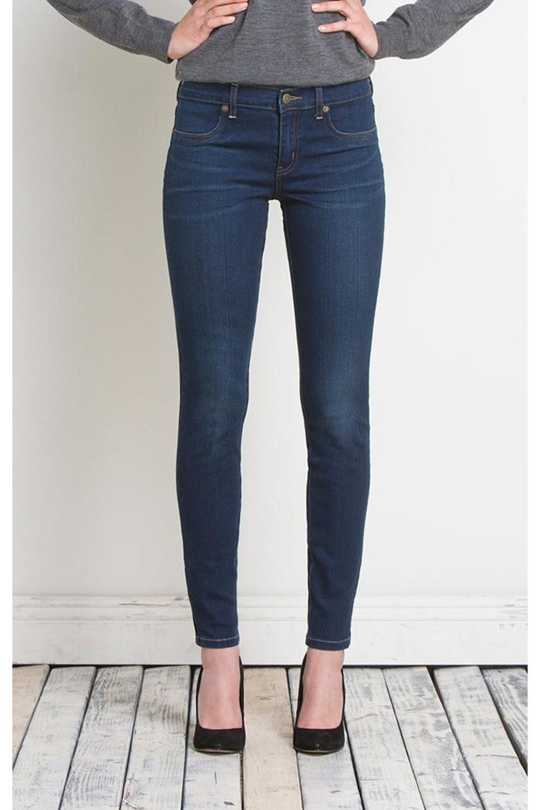 Henry & Belle Skinny Zipper Ankle - Front Cropped Image