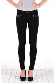 Henry & Belle Studded Jeans - Front cropped