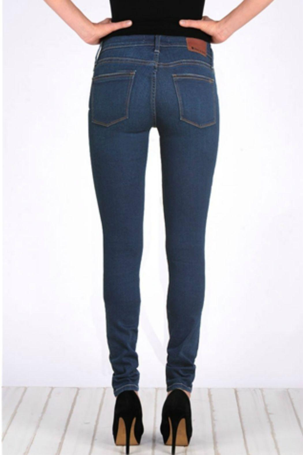 Henry and Belle High Waisted Super Skinny Jeans - Front Full Image