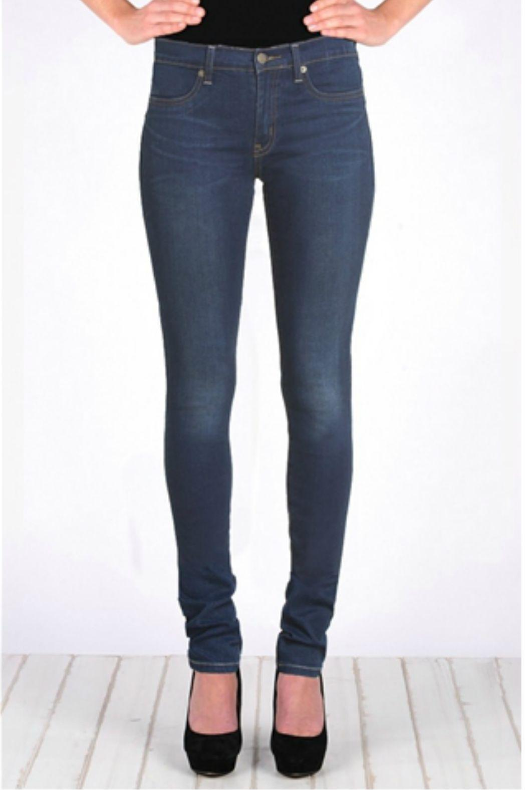 Henry and Belle High Waisted Super Skinny Jeans - Main Image