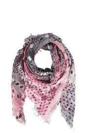 Henry Christ Silk Pattern Scarf - Front cropped