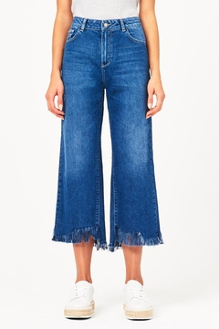 DL 1961 Hepburn Wide-Leg Jeans - Product List Image