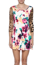 Her She Leopard Rainforest Dress - Side cropped