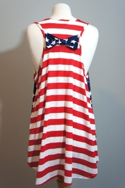 Her She American Flag Tanktop - Side cropped