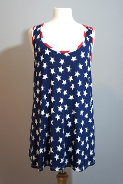 Her She American Flag Tanktop - Product List Image