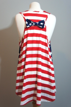 Her She American Flag Tanktop - Alternate List Image