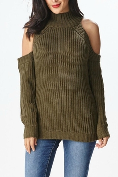 Hera Cold Shoulder Sweater - Product List Image