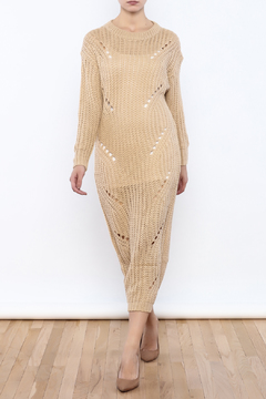 Shoptiques Product: Destroyed Sweater Dress