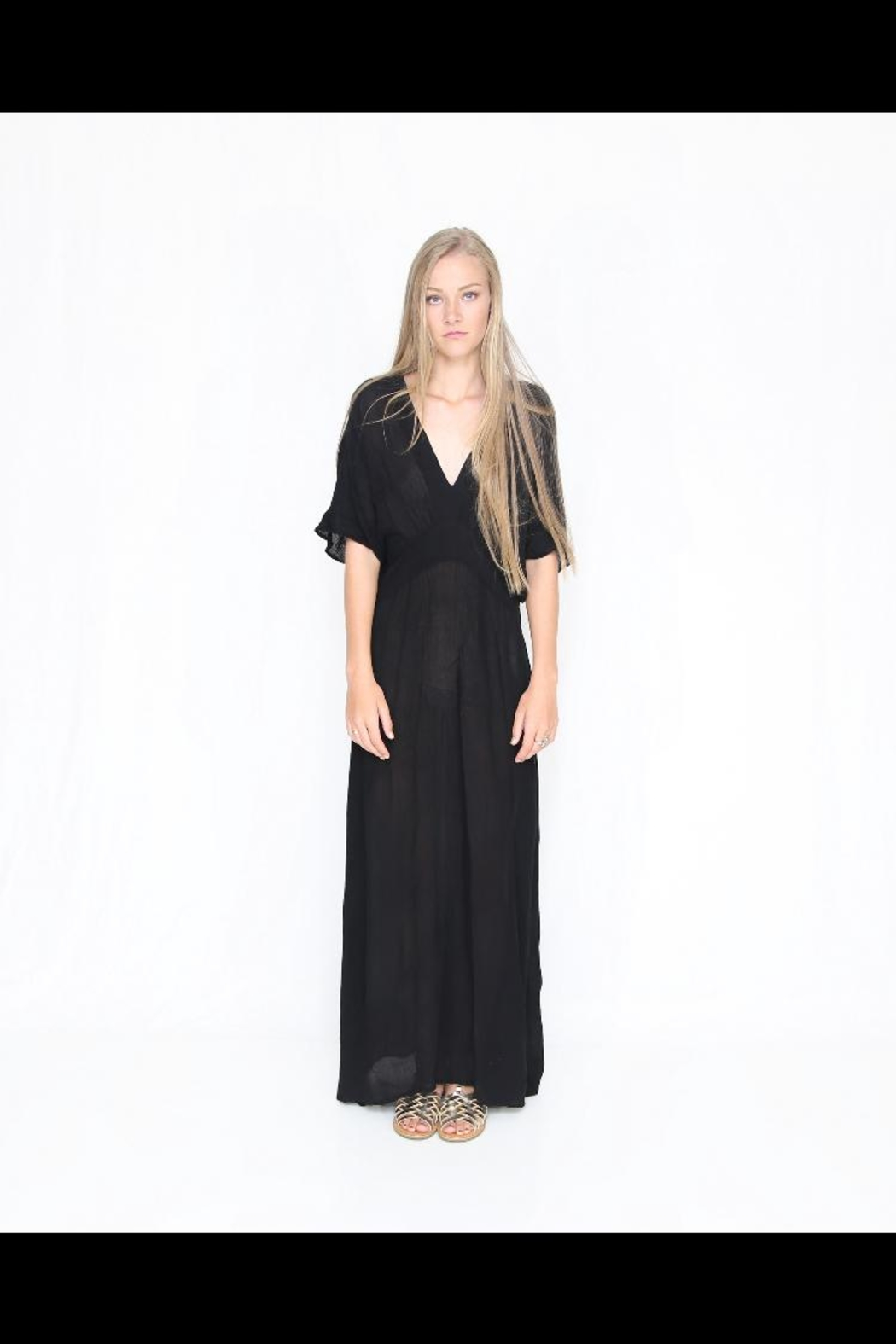 Fox In Gown Hera Maxi Dress - Front Cropped Image