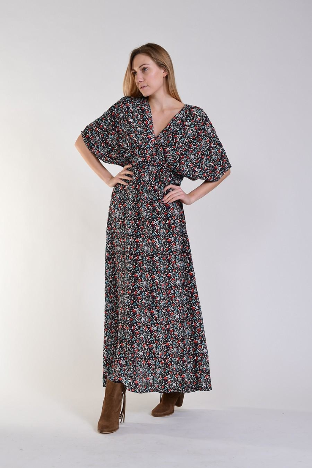 Fox In Gown Hera Maxi Dress - Front Full Image