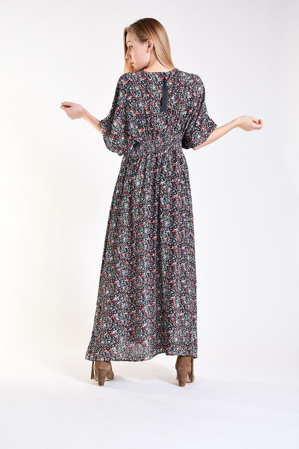 Fox In Gown Hera Maxi Dress - Side Cropped Image