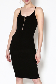 Hera Black Bodycon Dress - Product Mini Image