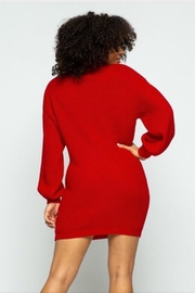 Hera Turtle Neck Dress - Front full body