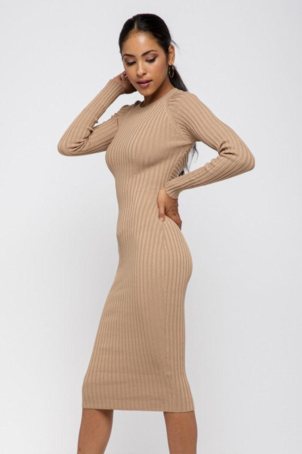 Hera Twist Back Dress - Side Cropped Image