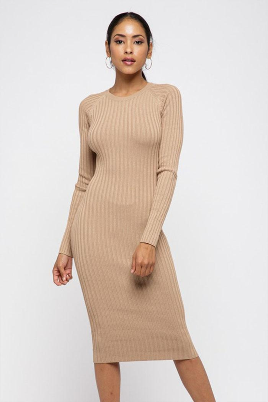 Hera Twist Back Dress - Front Cropped Image