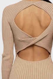Hera Twist Back Dress - Back cropped