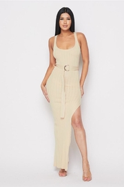 hera collection Belted Slit Maxi - Product Mini Image
