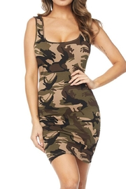 hera collection Camo Bodycon Dress - Product Mini Image