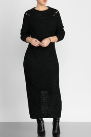 hera collection Distressed Maxi Sweater - Side cropped