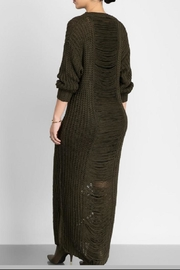 hera collection Distressed Maxi Sweater - Front cropped