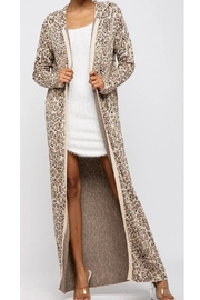 hera collection Leopard Cardigan - Product Mini Image