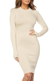hera collection Ribbed Midi Dress - Product Mini Image