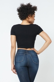 hera collection Tie Breaker  Cutout Top - Other