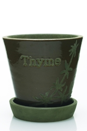 The Birch Tree Furniture Herb Pot - Front cropped