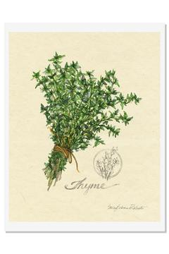 Sally Eckman Roberts Herbs Print-Thyme - Alternate List Image