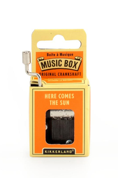 Kikkerland Design Here Comes The Sun Music Box - Product List Image