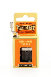 Kikkerland Design Here Comes The Sun Music Box - Product Mini Image