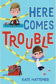 Penguin Books Here Comes Trouble - Front cropped