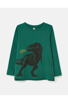 Joules Here For Snacks Dino Action Tee - Alternate List Image