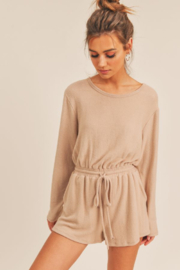 Sadie & Sage Here For You Romper - Front full body