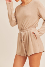 Sadie & Sage Here For You Romper - Front cropped