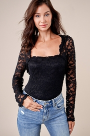 Sugarlips Here To Slay Lace Bodysuit - Front full body