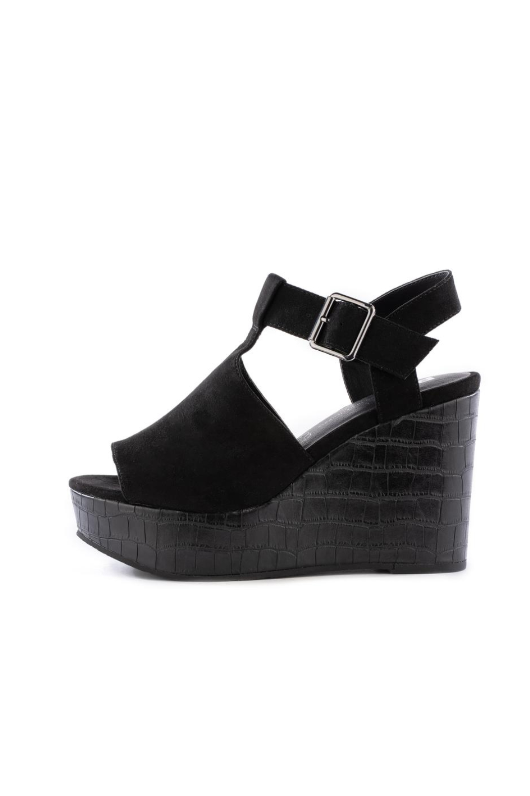 BC Footwear Here We Go Wedge - Front Cropped Image