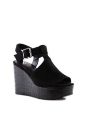 BC Footwear Here We Go Wedge - Front full body