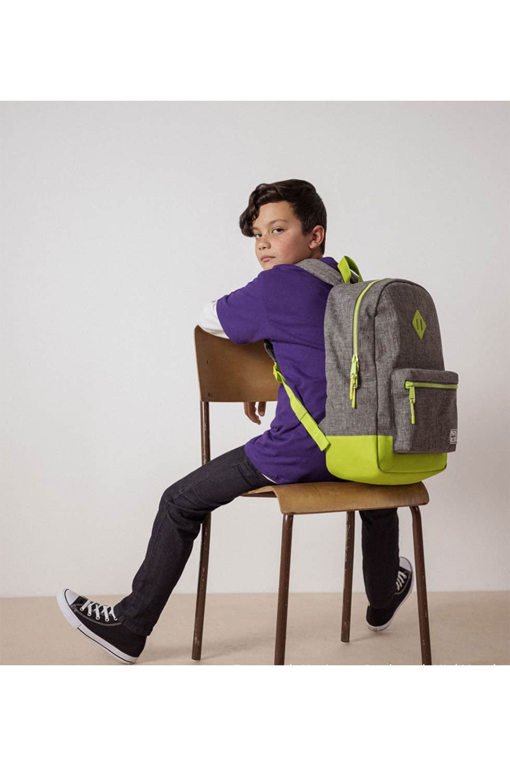 Herschel Supply Co. Heritage Backpack XL Youth - Front Cropped Image