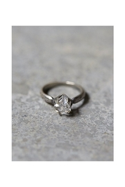 Roost Herkimer Diamond Solitaire Ring - Front cropped