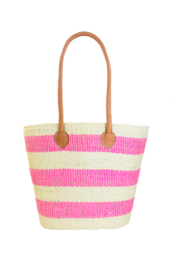 Shebobo Hermosa Straw Basket Tote - Front cropped