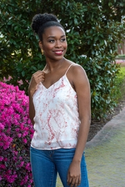 Cupcakes and Cashmere Hermosa Snake Print Cami - Product Mini Image