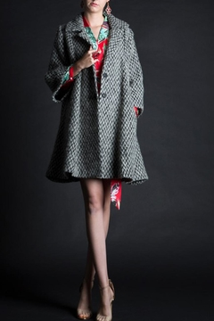 beulah Herringbone Coat - Product List Image