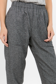 Hashttag Herringbone cropped pants - Alternate List Image