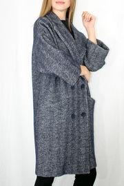 1950s Jackets, Coats, Bolero | Swing, Pin Up, Rockabilly Herringbone Overcoat $292.00 AT vintagedancer.com